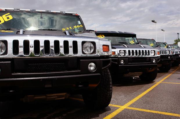 Hummer: winding down the brand will take several months Photo: Getty Images