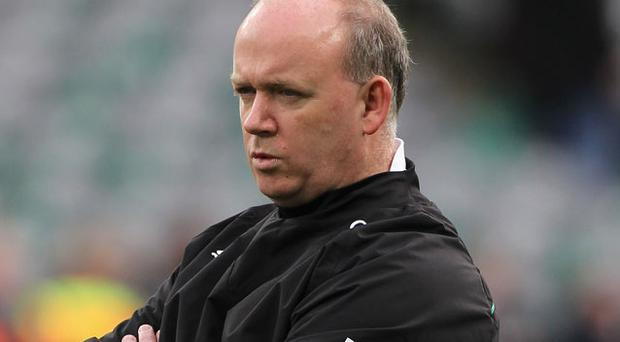 Declan Kidney will certainly have 'a masterplan' to face England according to Victor Costello Photo: Getty Images