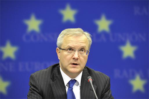 EU's Economic and Monetary Affairs Commissioner, Olli Rehn. Photo: Bloomberg News