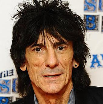 An album by Ronnie Wood's band The Rolling Stones is being re-released