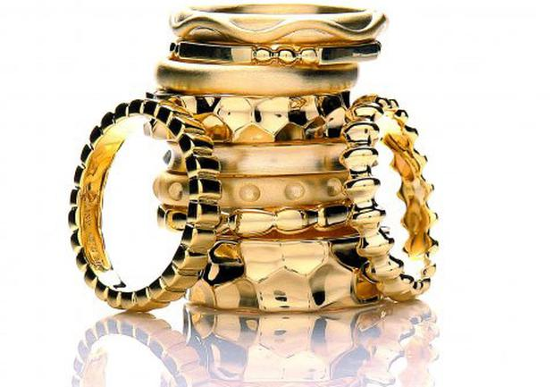 Daisy jewellery stackable rings