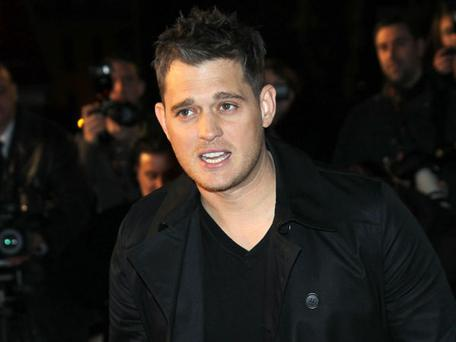 IT'S TIME: Michael Bublé is first act to be announced for the new Aviva Stadium.