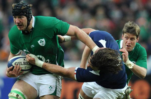 Stepehn Ferris was one of Ireland's better players in Paris. Photo: Getty Images