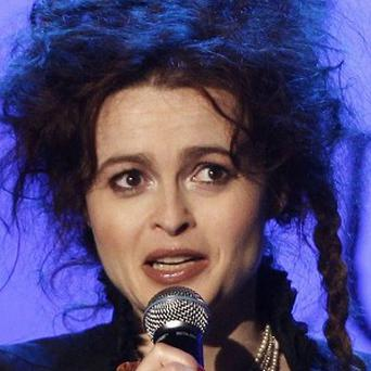 Helena Bonham Carter was inspired by her two-year-old daughter Nell