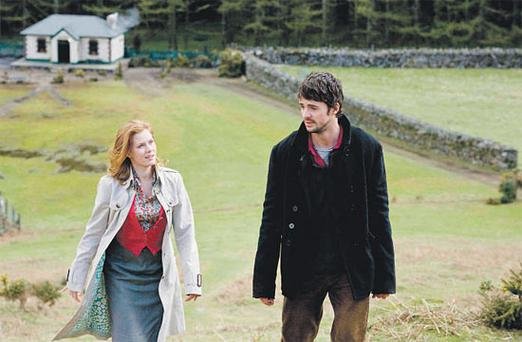TOP O' THE MORNIN': Amy Adams is charming, but Matthew Goode struggles with the Irish accent... and the Irishness.