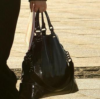 The contents of the average handbag 'can make it weight as much as a toddler'