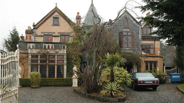 AN IRISHWOMAN'S CASTLE: Ann Cassidy told a court last week that the mortgage on her castellated home in Dublin's exclusive Foxrock suburb is €6m
