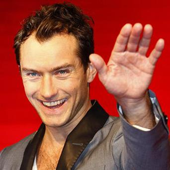 Jude Law is helping three budding filmmakers