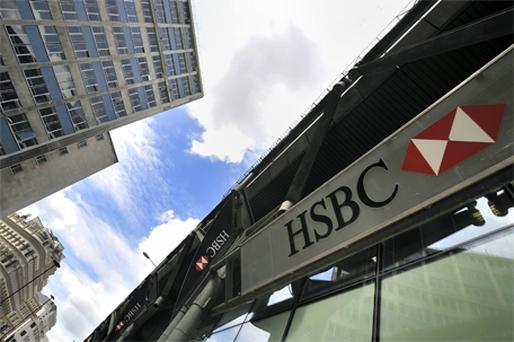 HSBC: profits up by less than expected. Photo: Bloomberg News