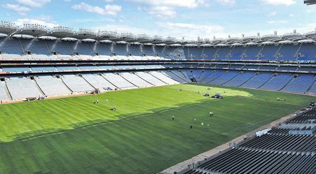 Croke Park will remain empty tomorrow night as Giovanni Trapattoni's Ireland side travel to Arsenal's Emirates Stadium to take on Robinho and Co