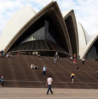 5,200 naked people posed outside Sydney?s Opera House for photographer Spencer Tunick