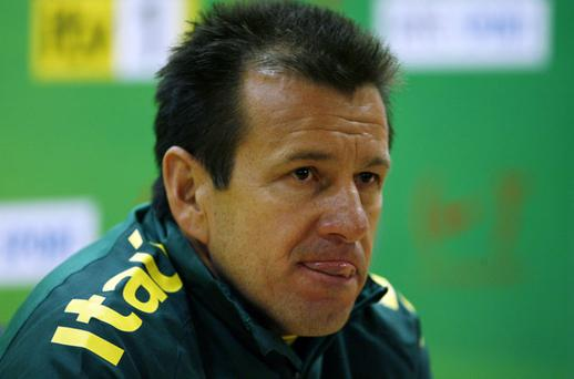 Brazil Coach Dunga Photo: Getty Images