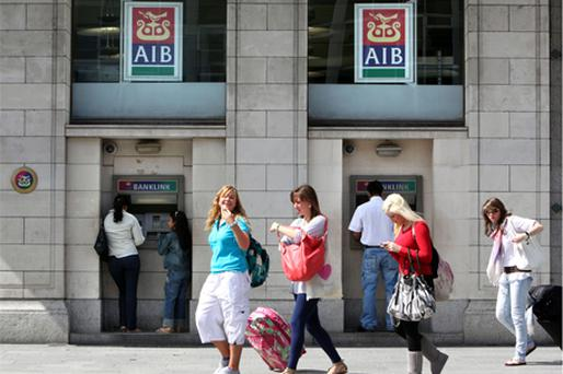 AIB: allegedly fell victim to a poker playing fraudster. Photo: Bloomberg News