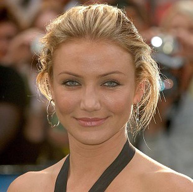 Cameron Diaz voices a character in the Shrek films