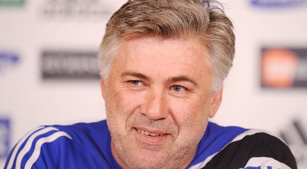 Carlo Ancelotti prefers to remain in London at Chelsea and lead the team to a Champions League final. Photo: Getty Images