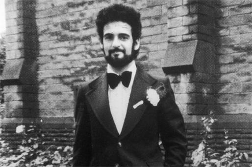 The 'Yorkshire Ripper' Peter Sutcliffe on his wedding day