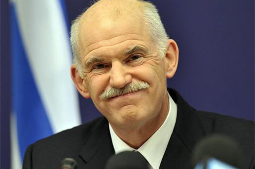 Greek Prime Minister George Papandreou. Photo: Bloomberg News