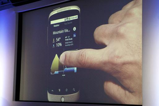 A software update will bring multi-touch capabilities to Google's Nexus One phone. Photo: Getty Images