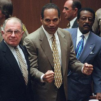 A judge approved a plan to donate the suit OJ Simpson wore at his trial. (AP)