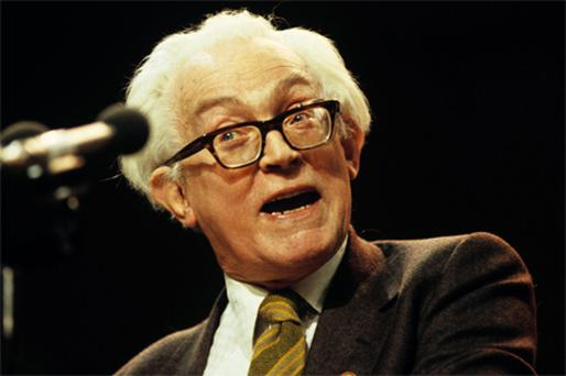 Michael Foot, the Labour Party leader, pictured in 1981, brought many talents to British public life