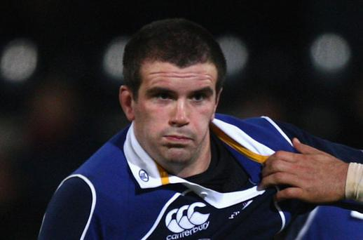 Focus will be on Shane Jennings this weekend when Leinster play Cardiff Photo: Getty Images