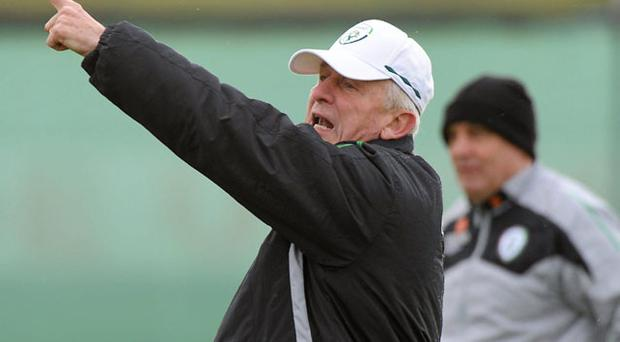 Giovanni Trapattoni is hoping to organise a summer training camp ahead of Euro 2012 qualification