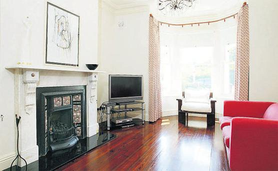 Three-bedroom mid-terrace period home