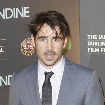 Colin Farrell returned to his home country to make Ondine