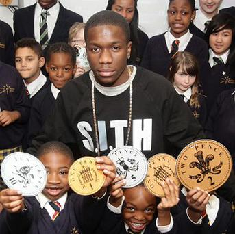 Tinchy Stryder is supporting the My Money programme
