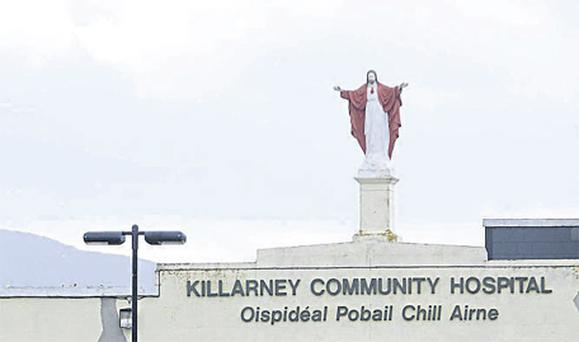 The statue was a staple of the Killarney skyline