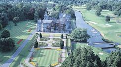 Adare Manor has an impressive 800 acres of grounds