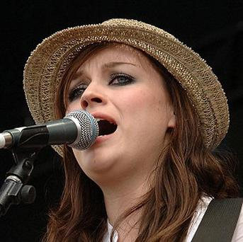 Amy Macdonald likes to stare out her fans