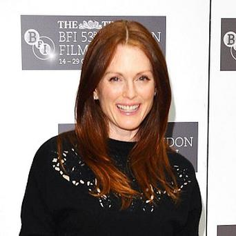 Julianne Moore says she thinks about death all the time