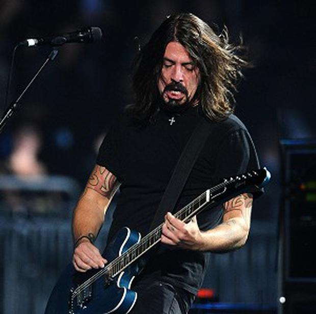 Dave Grohl revealed the Foo Fighters are working on new music