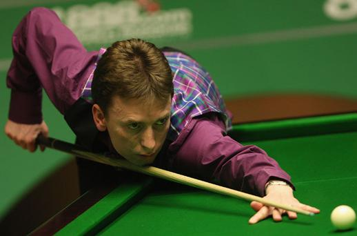 Ken Doherty was smiling again last night qualifying for the televised phase of the Betfred.com World Championship Photo: Getty Images