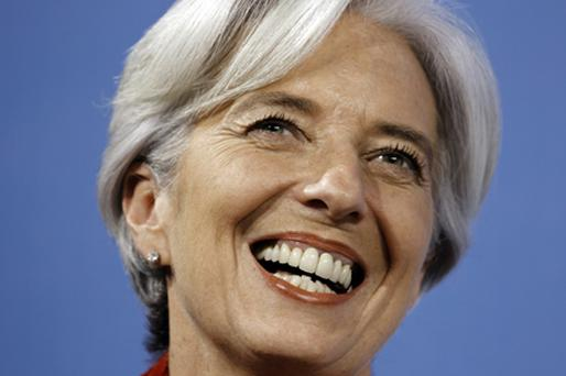French Finance Minister Christine Lagarde Photo: Getty Images
