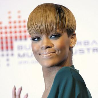 Rihanna was kept off the top spot by Tinie Tempah