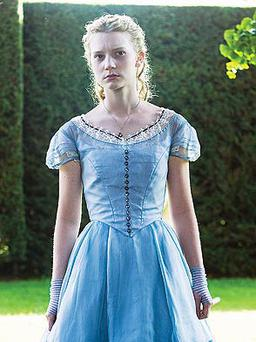 Mia Wasikowska stars as the iconic heroine of Alice in Wonderland