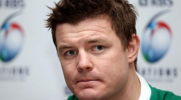 Brian O'Driscoll will earn his 100th cap for Ireland on Saturday. Photo: Getty Images