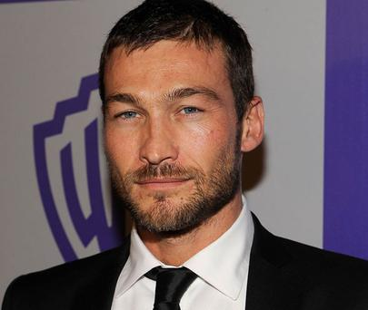 British actor Andy Whitfield was diagnosed with non-Hodgkin lymphoma. Photo: Getty Images