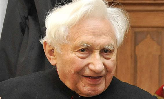 The Pope's elder brother, Georg Ratzinger, was choirmaster at a German boarding school. Photo: Getty Images
