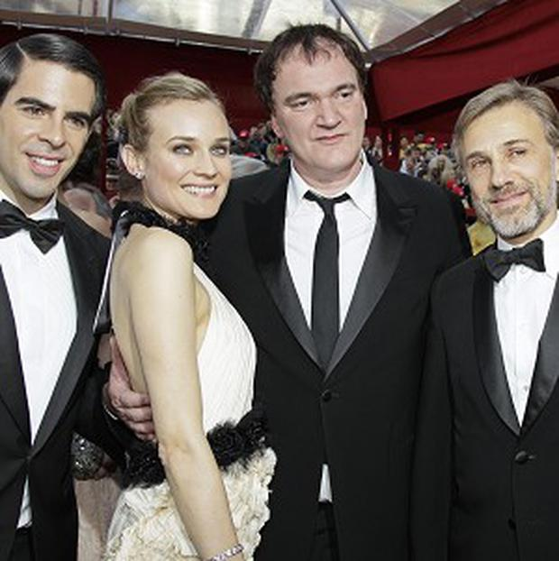 Quentin Tarantino threw a party for the Inglourious Basterds cast
