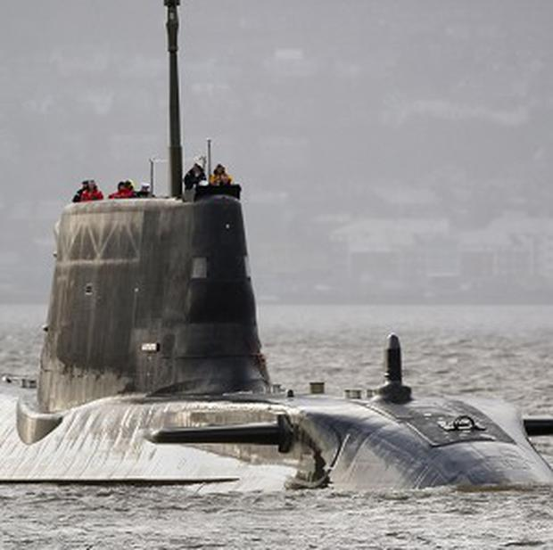 Fears have been raised over the safety of women submarine crew