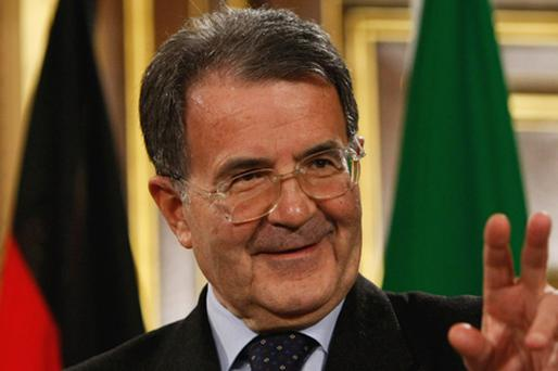 Former European Commission President Romano Prodi. Photo: Getty Images