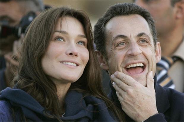 Carla Bruni, wife of French president Nicolas Sarkozy, is magnificently unconcerned with her age. Photo: AP