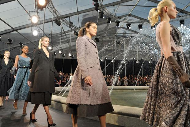 Designer Marc Jacobs' collection for Louis Vuitton. Photo: Getty Images