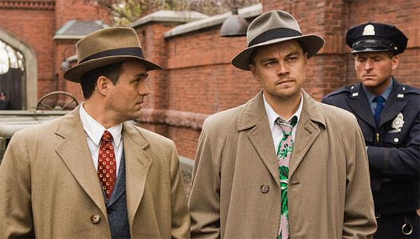 KEEP IT UNDER YOUR HAT: Leonardo DiCaprio tries to work out the secrets of Shutter Island without losing his mind.