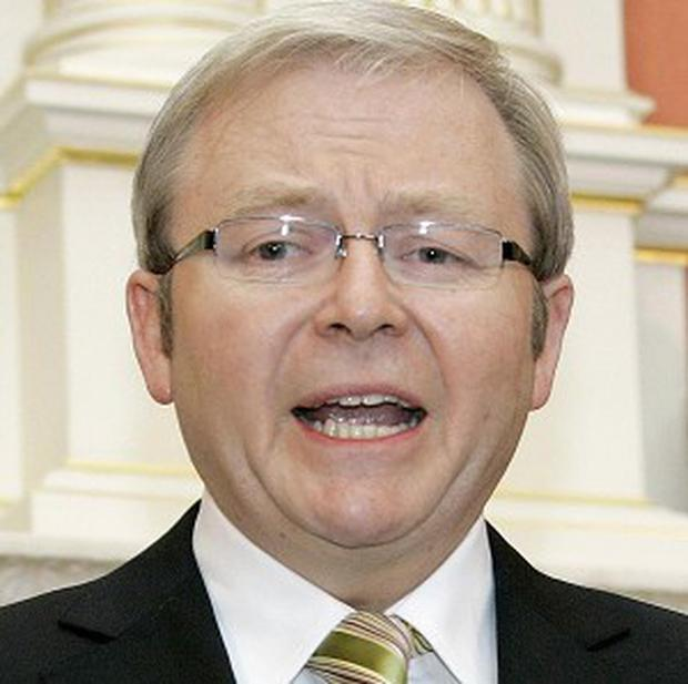 Prime Minister Kevin Rudd described the reports of navy sex games as disturbing