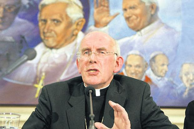 Sued: Cardinal Sean Brady attended meetings with abuse complainants as far back as 1975