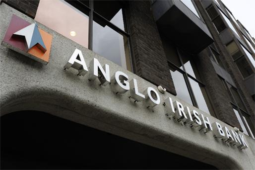 Anglo Irish Bank Photo: Bloomberg News